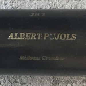 2001 Albert Pujols game used SAM bat